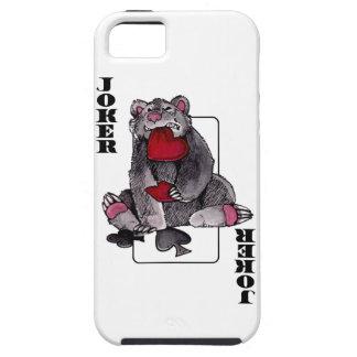 Bear Joker iPhone 5 Covers