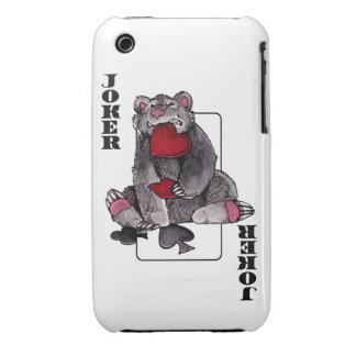 Bear Joker Case-Mate iPhone 3 Cases