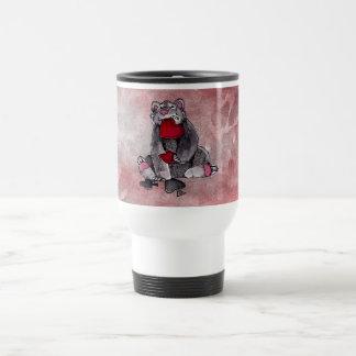 Bear Joker Stainless Steel Travel Mug