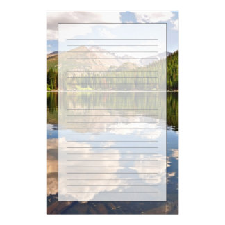 Bear Lake. Colorado. Stationery Design