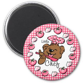 Bear Little Chef Magnet (Rnd)