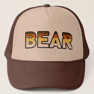 Bear Logo Gear 2 Trucker Hat