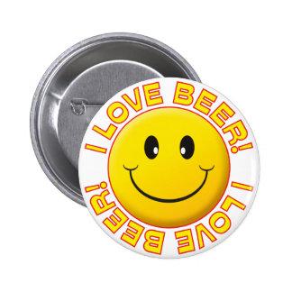 Bear Love Smile 6 Cm Round Badge