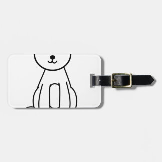 Bear Luggage Tag