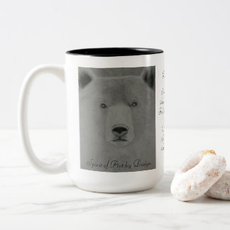 Bear Medicine Two-Tone Coffee Mug