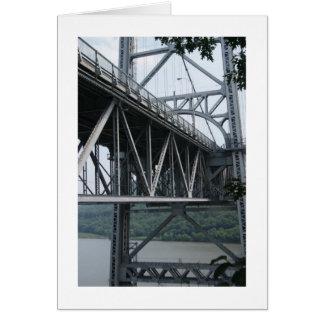 Bear Mountain Bridge Greeting Card