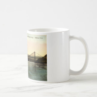 Bear Mountain Bridge, Hudson River NY Vintage 1927 Coffee Mug
