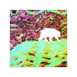 Bear on a Hill Canvas Print