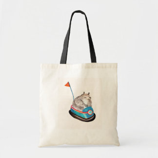 bear on bumper tote bags