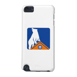 Bear On Roof Rectangle Retro iPod Touch 5G Case