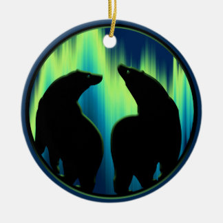 Bear Ornament Personalized Wildlife Art Decoration
