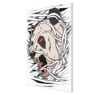 Bear Panda - Mummy - Gallery Wrap Canvas