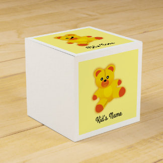 Bear Party Favour Box