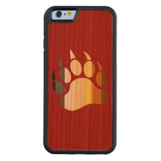 Bear Paw Bear Pride Colors Cherry iPhone 6 Bumper