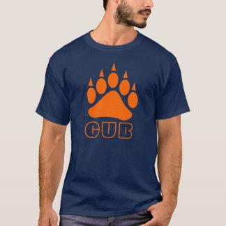 Bear Paw Cub (Orange) T-Shirt