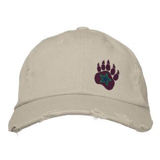 Bear Paw Wild Star Embroidery Embroidered Hat