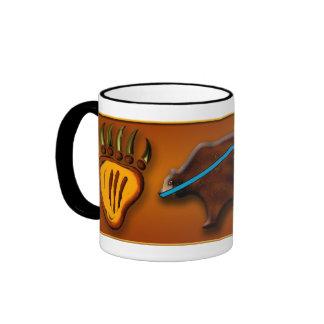 Bear & Paws Ringer Mug