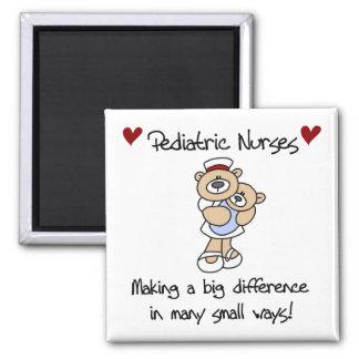 Bear Pediatric Nurses T-shirts and Gifts Magnet