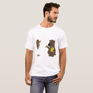 Bear playing dart T-Shirt