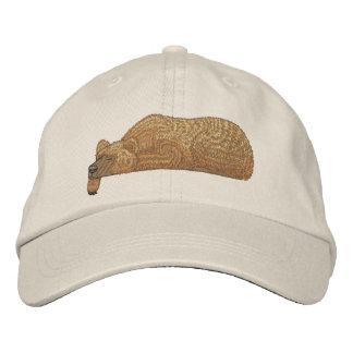 Bear Pocket Topper Embroidered Cap