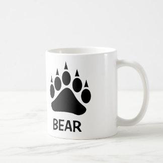 Bear Pride Bear Claw (Black) Coffee Mug