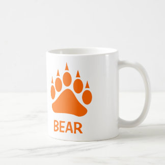 Bear Pride Bear Claw (Orange) Coffee Mug