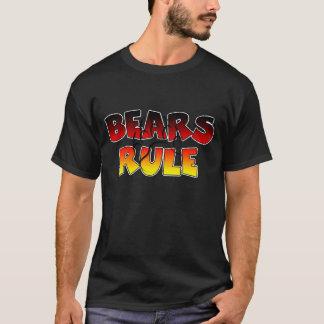 Bear Pride Bear Paw Bears Rule T-Shirt
