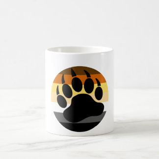 Bear Pride Bear Paw Circle Coffee Mug