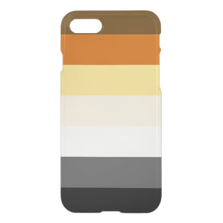 BEAR PRIDE FLAG ON iPhone 8/7 CASE