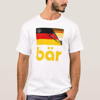 Bear Pride German Flag Bär T-Shirt