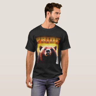 Bear Pride - Grizzly Bear T-Shirt