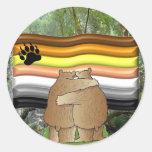 Bear Pride in the Woods Sticker
