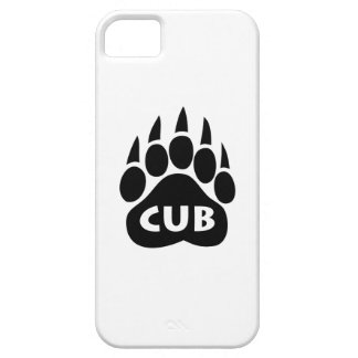 "Bear Pride Paw ""Cub"" iPhone 5 Case"