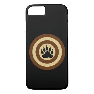 Bear Pride Super Hero Shield Bear Paw iPhone 7 Case