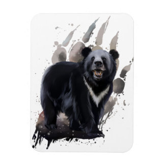 Bear Rectangular Photo Magnet