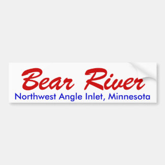 Bear River Bumper Sticker