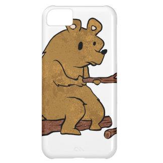 bear roasting marshmallows iPhone 5C case