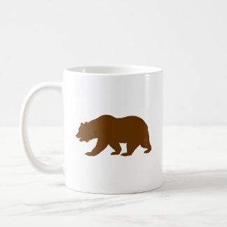 Bear Shape Basic White Mug