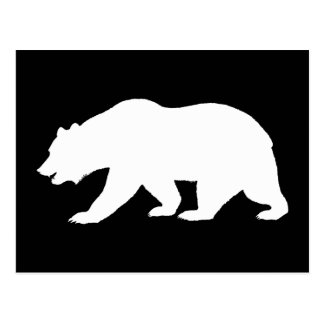 Bear Shape Postcard