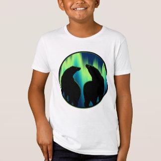Bear Shirt Northern Lights Organic Kid's T-shirt