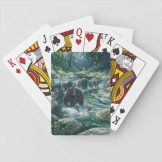 """Bear Sighting II"" Playing Cards"