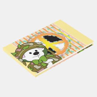 BEAR SOLDIER CUTE CARTOON Guestbook