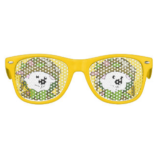 BEAR SOLDIER Kids Retro Party Shades YELLOW