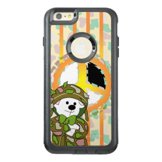 BEAR SOLDIER OtterBox Commuter iPhone 6/6s Plus C