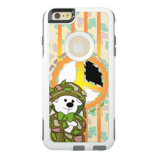 BEAR SOLDIER OtterBox Commuter iPhone 6/6s Plus W