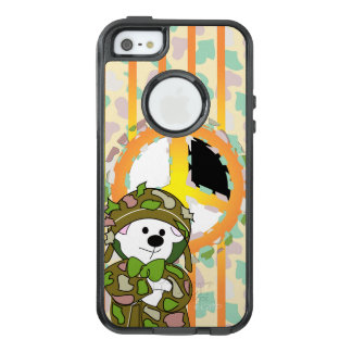 BEAR SOLDIER OtterBox Commuter iPhone SE/5/5sCaseB