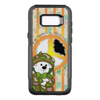 BEAR SOLDIER OtterBox Commuter Samsung Galaxy S8+C