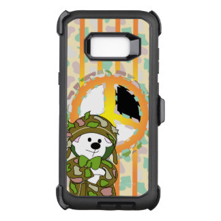 BEAR SOLDIER OtterBox Defender Samsung Galaxy S8+C