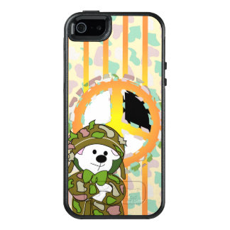 BEAR SOLDIER OtterBox Symmetry iPhone SE/5/5s Case