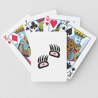 Bear Spirit Bicycle Playing Cards